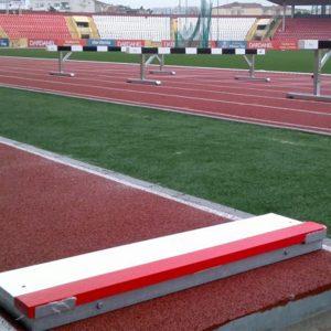 Uzun ve Üç Adım Atlama - Basma Tahtası