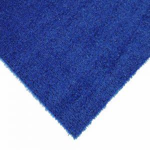 Dekorasyon Mavi Sentetik Çim Halı