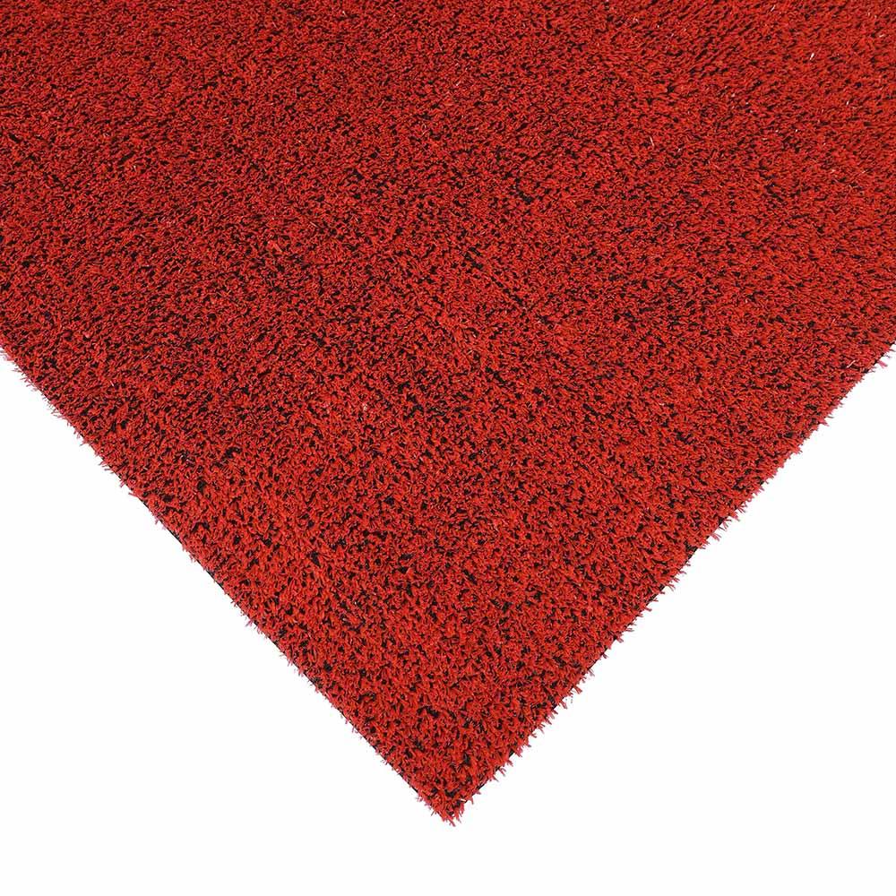 Dekorasyon Kırmızı Sentetik Çim Halı