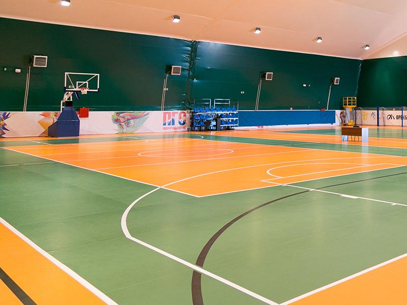 poliüretan zemin basketbol